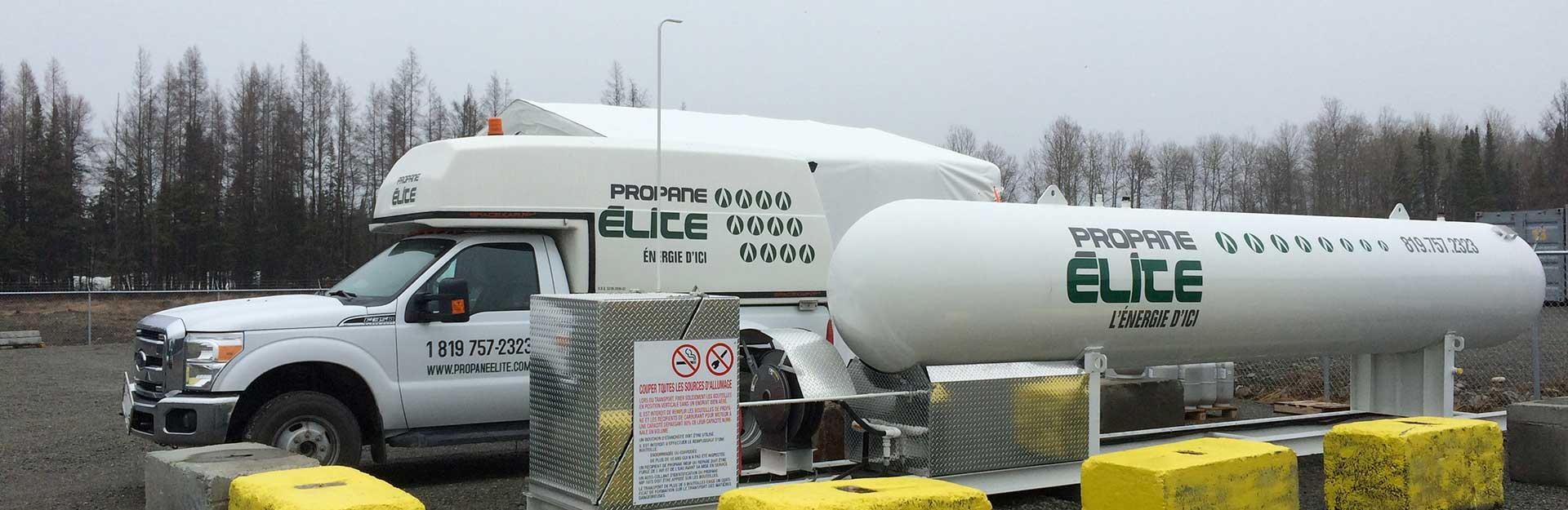 camion propane elite