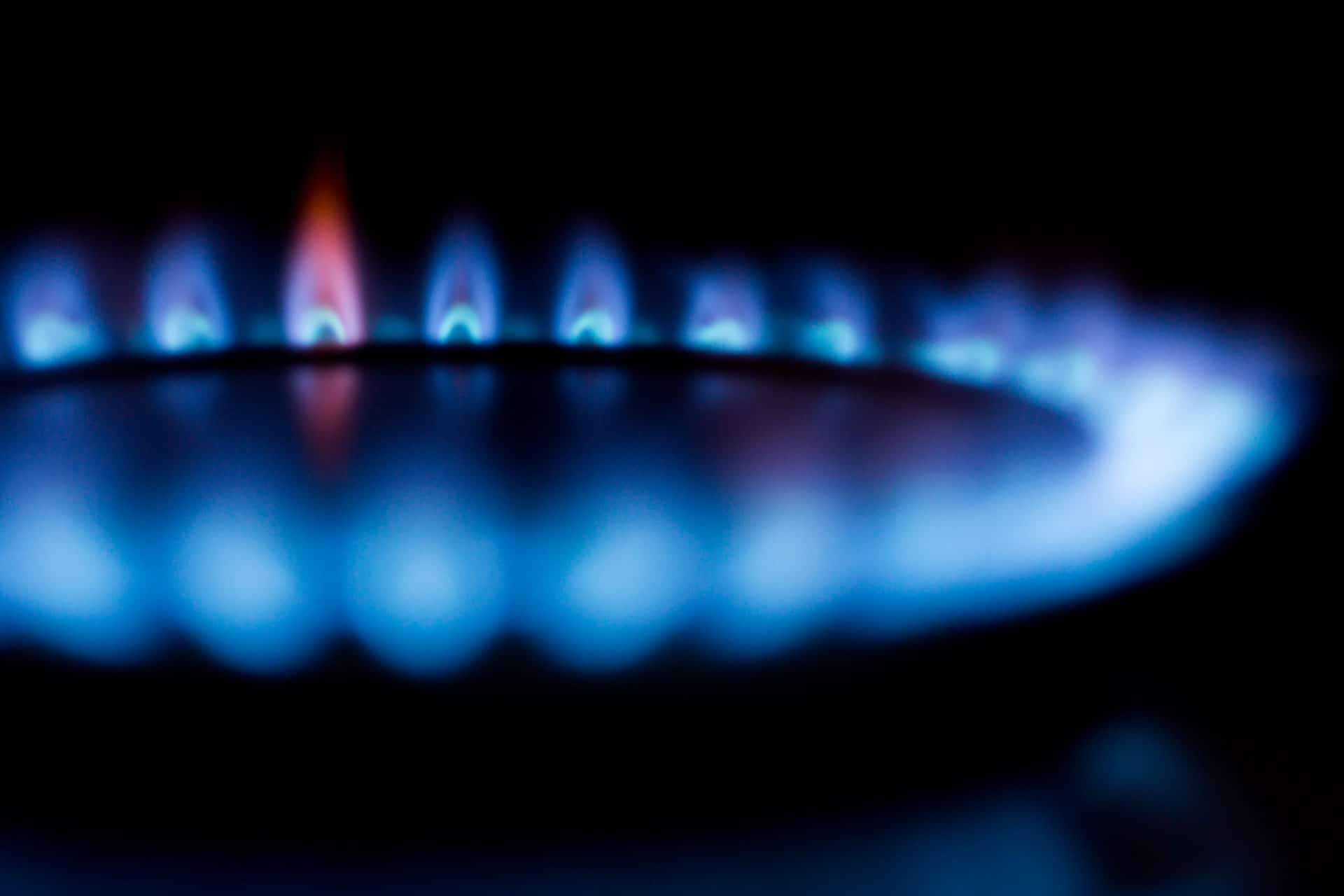 bruleur propane flame bleu